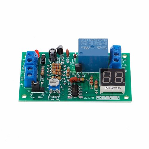 DC 12V Delay Relay Delay Turn off Switch Module with Led Timer Electrical Equipment Relays