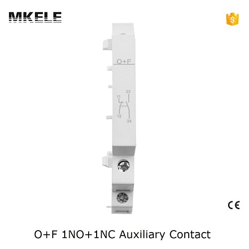 O+F Ct Contactor 1no+1nc Ac Contactor Silver Electrical Contact For Contactor Household Auxiliary Contator