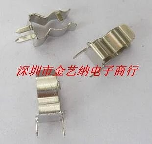 50PCS/LOT   Clips Fuse holder fuse clamp 6 * 30MM whole nickel-plated copper