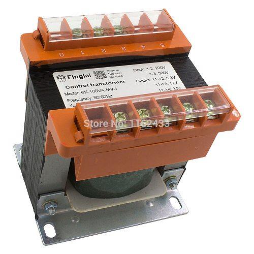 BK-100VA BK type 100W control power transformer 380V/220V input 220V 110V 36V 24V 12V 6.3V output