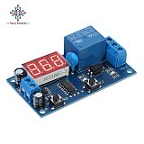 diymore DC 12V Infinite Cycle Delay Timing Timer Relay ON/OFF Switch Loop Module with LED Display