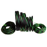 5M 2-25mm Insulated Cable Sleeve PET Expandable Nylon High Density Sheathing Insulation Braided Cable Sleeve