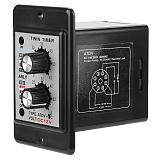 On Off Twin Timer Relay Knob Control Time Switch ATDV-YC 6S-60M relay board