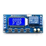 6-30V Micro USB Digital LCD Display Time Delay Relay Module Control Timer Switch Trigger Cycle Module XY-LJ02