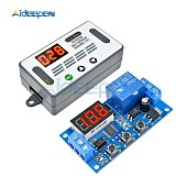 DDC-331 DC 12V Trigger Cycle Time Timer Delay Relay LED Digital Display Adjustable Timing Control Switch Relays with Case
