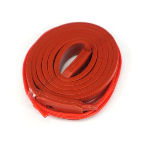 12V 15mm Width x 1000mm Length 115W Silicone Rubber Heater Belt For 3D Printer Oil Tank