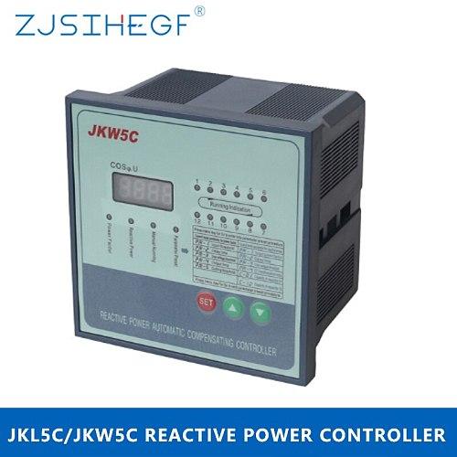 JKW5C/JKL5C 380V 4/6/8/10/12 Steps Reactive Power Factor Controller Automatic Compensation for Power Capacitor Bank