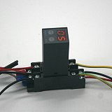 Digital time relay 0.1s-990h power on delay off cycle delay multi mode DC24V AC 220V H3Y-2 with base socket