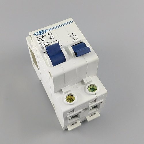 1P 32A MTS Manual transfer switch Circuit breaker MCB 50HZ/60HZ 400~