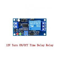 Delay Relay Delay Turn On / Delay Turn Off Switch Module with Timer DC 12V Time Delay Relay Module 12 V Volt Timing Relays Board