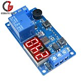 DC 12V LED Digital Time Delay Relay Module Timer Relay Time Control Switch Trigger Timing Board PLC Automation Car Buzzer