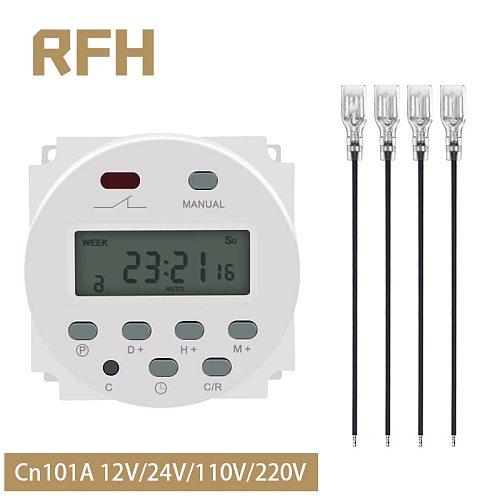 CN101A LCD Time Switch 12V 24V 110V 220V Time Relay Street Lamp Lillboard Power Supply Timer