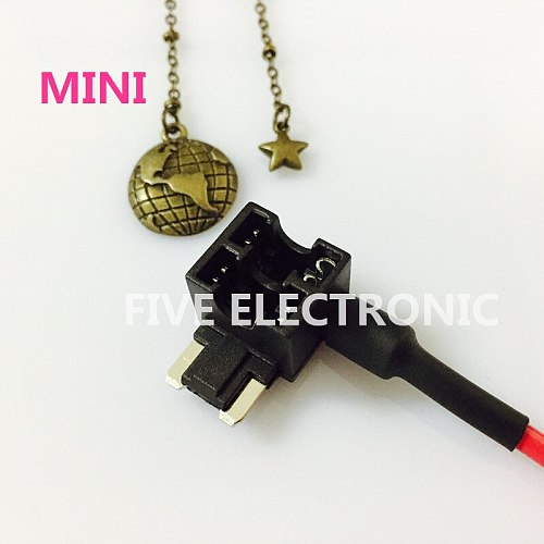 MINI Auto CAR fuse box Fuse Holder for Auto Car Take electrical appliances With cable Small Plug. Free mini fuse & terminal