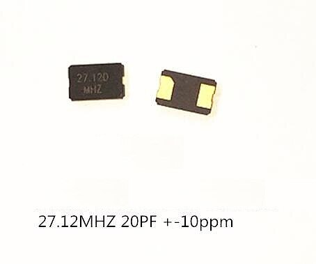 10PCS 8MHZ 10MHZ 11.0592MHZ 12MHZ 16MHZ 20MHZ 24MHZ 25MHZ 27M SMD Quartz Resonator Crystal 2Pin 5032 Passive Crystal Oscillator