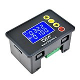 AC 220V 12V 24V 1.37'' LCD Display Digital Time Delay Relay Cycle Timer Control Switch Adjustable Timing Relay Time Delay Switch