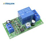 DC 12V 10V-14.5V Conduction NE555 Delay Timer Switch Adjustable Time Delay Relay Module Turn Off 1~60 seconds