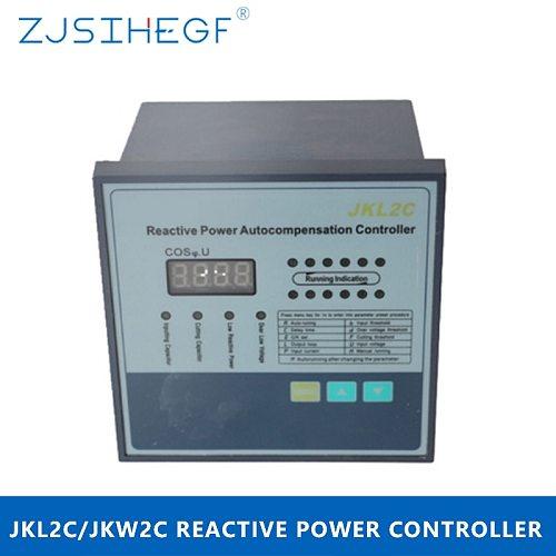 JKW2C/JKL2C  220V 4/6/8/10/12 Steps Reactive Power Factor Controller Automatic Compensation for Switchgear Switchboard Panel