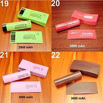 100pcs/lot 18650 lithium battery heat shrinkable sleeve battery cover skin PVC heat shrinkable film shrink skin