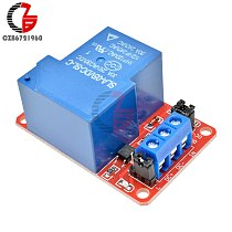 30A 5V 1 Channel Relay Module with Optocoupler Isolation High / Low Level Trigger Relay for Arduino