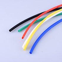 1M/lot Red, blue, black, yellow, white, green 1-10mm Diameter Heat Shrink Heatshrink Tubing Tube Sleeving  DIY Connector Repair