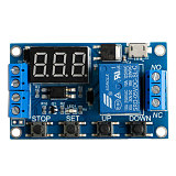 6-30V Relay Module Switch Trigger Time Delay Circuit Timer Cycle Adjustable  828 Promotion