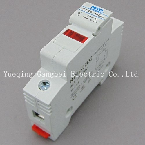 Fuse Base Fuses Holder RT18-32X with LCD led light Suit for 10x38 RO15 RS15