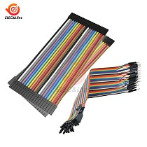 10CM 20CM 40CM 40 Pin 2.54mm dupont Cable Jumper Line wire Male to Male Female to Male Female Jumper Wire eclectic Cable cord