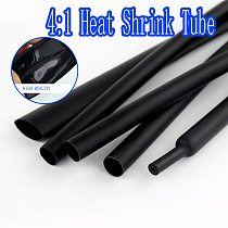 1M 4/6/8/12/16/18/20/24mm 4:1 Heat Shrink Tube with Glue Adhesive Lined Dual Wall heatshrink Tubing Cable Sleeving Wrap Wire kit