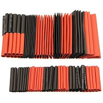 70/127/530PCS Polyolefin Shrinking Assorted Heat Shrink Tube Wire Cable Insulated Sleeving Wrap Wire Car Shrinkable Cable Tubing