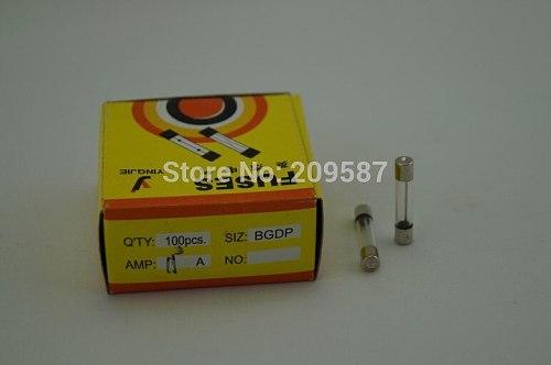 100pcs Fast Blow Glass Fuse 6x30 6x30mm 6mm x 30mm 250V 0.25A 0.5A 1A 2A 3A 5A 6A 7A 8A 10A 15A 20A High quality Fuse