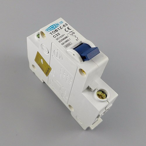 1P 32A DC 125V  Circuit breaker MCB C curve