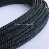 10M 2/4/6/8/10/12/14/16mm Wire Cable Protecting Color PET Nylon Braided Cable Sleeve High Density Wiring Harness Loom Protection