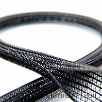 1/8  ID:3mm Split Braided Sleeving Cable Self closing braided cable wrap cable sock