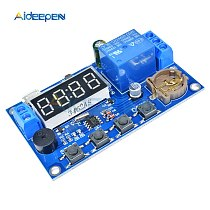 DC 5V LED Digital Real-time Relay Module Clock Control Switch Delay Timer Controller Board With Buzzer Alarm 12V 24V 48V 60V