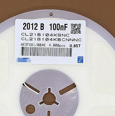 Free Shipping 4000pcs/lot 0805 100nF 0.1UF 0.1MF 104K CL21B104KBCNNNC  0805 50V 100NF 10% X7R  new and original Fuse