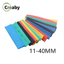 1M 2:1 Heatshrink Tubing 7 Colors 11mm 12mm 13mm 14mm 15mm 16mm 18mm 20mm 22mm 25mm 28mm 30mm Heat Shrink Tube Wire Dropshipping