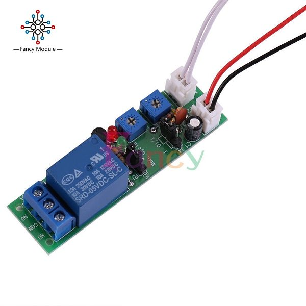 WS16 DC 12V Infinite Cycle Delay Timing Time Relay Timer Control ON-OFF Loop Switch Module Double Adjustable 0~120 Minutes