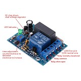 1Pc AC 220V Adjustable Timer Delay Switch Turn On/Off Time Relay Module W715