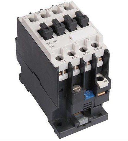 3TF30 AC contactor /magnetic contactor 2NO+2NC 9A