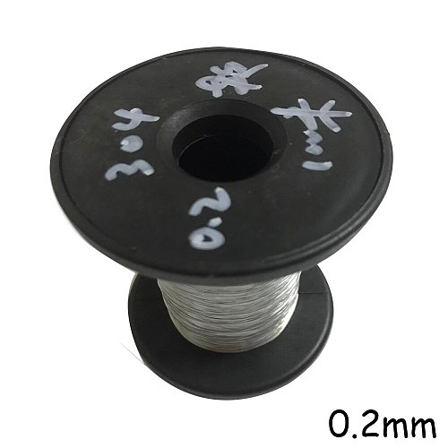100M 304 Stainless Steel Wire Soft Fishing Lifting Cable 0.2mm 0.3mm 0.4mm 0.5mm 0.6mm 0.8mm Diameter Clothesline Traction Rope