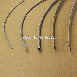 5M/Lot Gray - 2MM 4MM 6MM 8MM 10MM 12MM Assortment Ratio 2:1 Polyolefin Heat Shrink Tube Tubing Sleeving Cable Sleeves