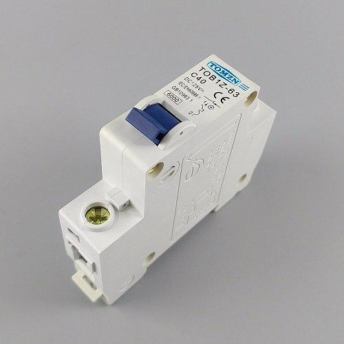 1P 40A DC 125V  Circuit breaker MCB C curve