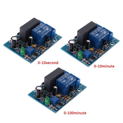 1Pc AC 220V Adjustable Timer Delay Switch Turn On/Off Time Relay Module