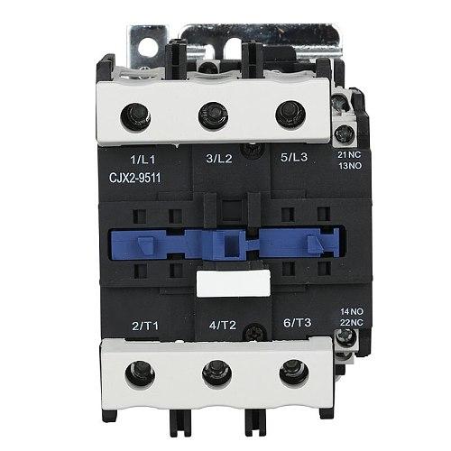 95A 3P Silver contact CJX2-9511 AC Contactor 1NO 1NC 220V 380V 110V 36V 24V 12V LC1-D