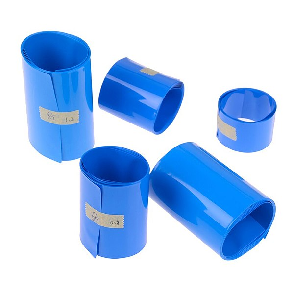 30mm-85mm 18650 Lithium Battery Heat Shrink Tube Tubing Li-ion Wrap Cover Skin PVC Shrinkable Film Tape Sleeves Accessories
