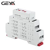 GEYA GRT8-M Adjustable Multifunction Timer Relay with 10 Function Choices AC DC 12V 24V 220V 230V Time Relay Din Rail