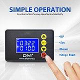 1.37 inch LCD Digital Display Microcomputer Time Controller Timer AC 110-220V DC 12V 24V 00:00-99:59 0000-9999S Control Module
