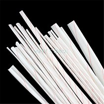 5pcs 1Meter 1 1.5 2 2.5 3 4 5 6MM Diameter Fiberglass Sleeving High Temperature Resistance Insulated Wire Protective Casing