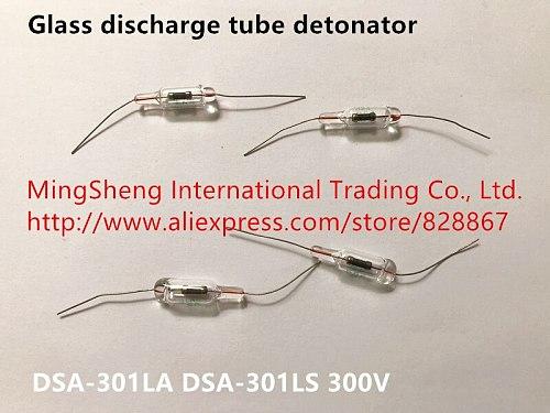 Original new 100% glass discharge tube detonator fuse DSA-301LA DSA-301LS 300V