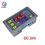 AC 110V 220V 12V Digital Time Delay Relay Dual LED Display Cycle Timer Control Switch Adjustable Timing Relay Time Delay Switch